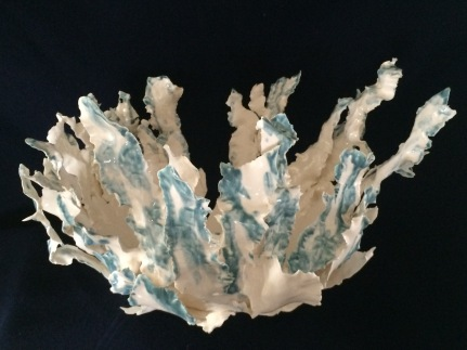 Latest emergee from the kiln 40x35x30cm